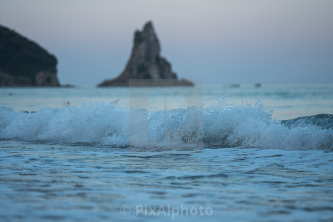 """Evening Waves"" stock image"