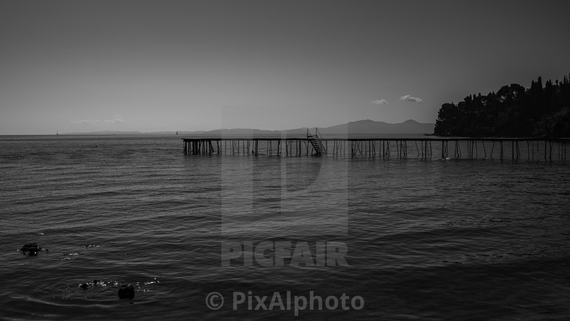 """The Long Jetty"" stock image"