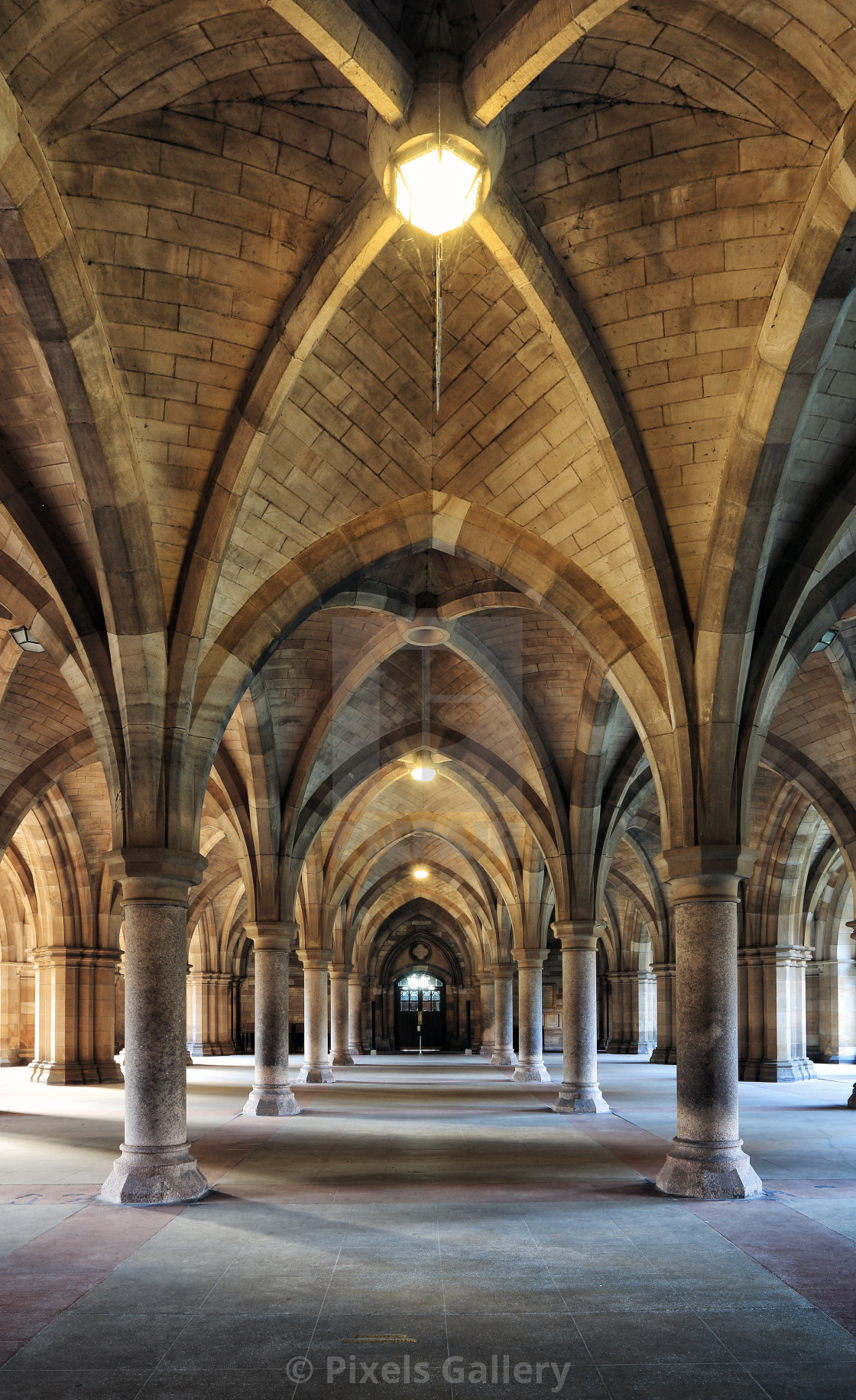 """Cloisters"" stock image"