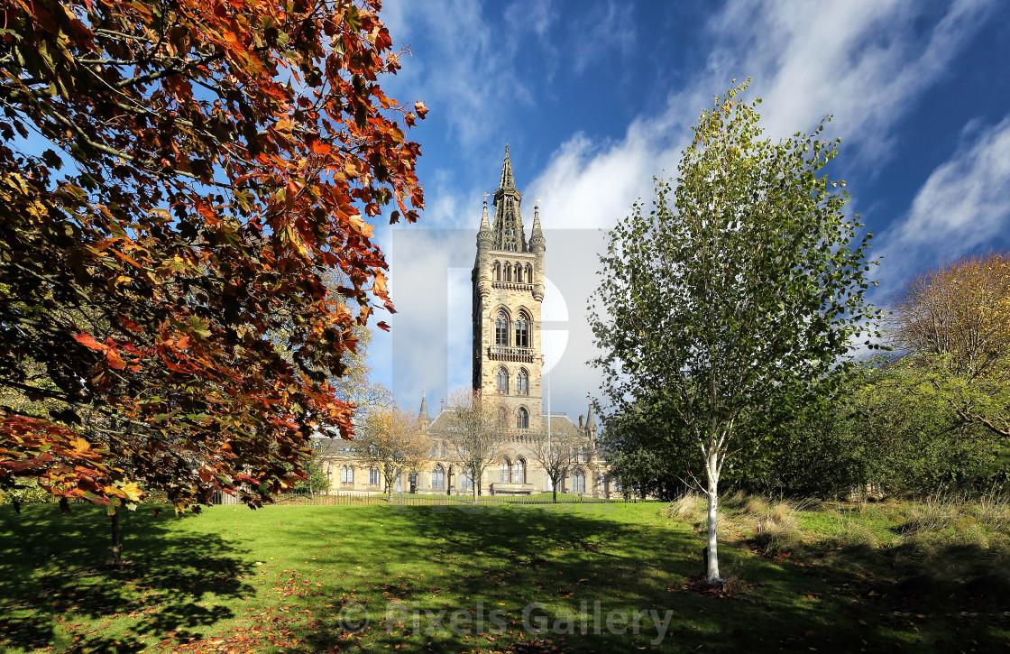 """""""University of Glasgow"""" stock image"""