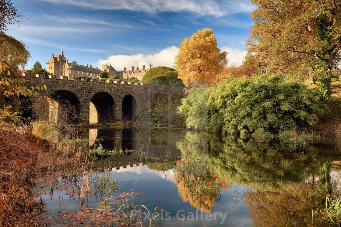 """""""Drummond Garden Autumn"""" stock image"""
