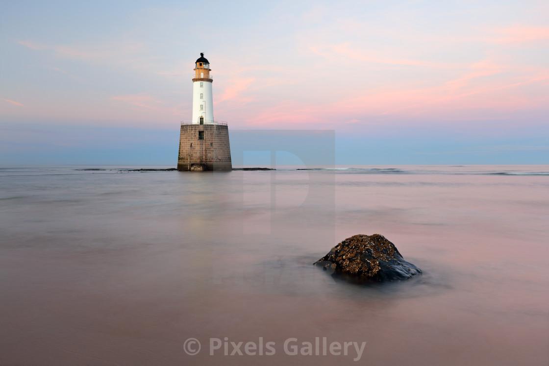 """Rattray Lighthouse Sunset"" stock image"