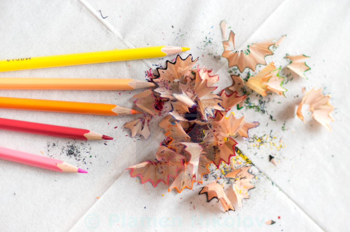 """Color pencils"" stock image"