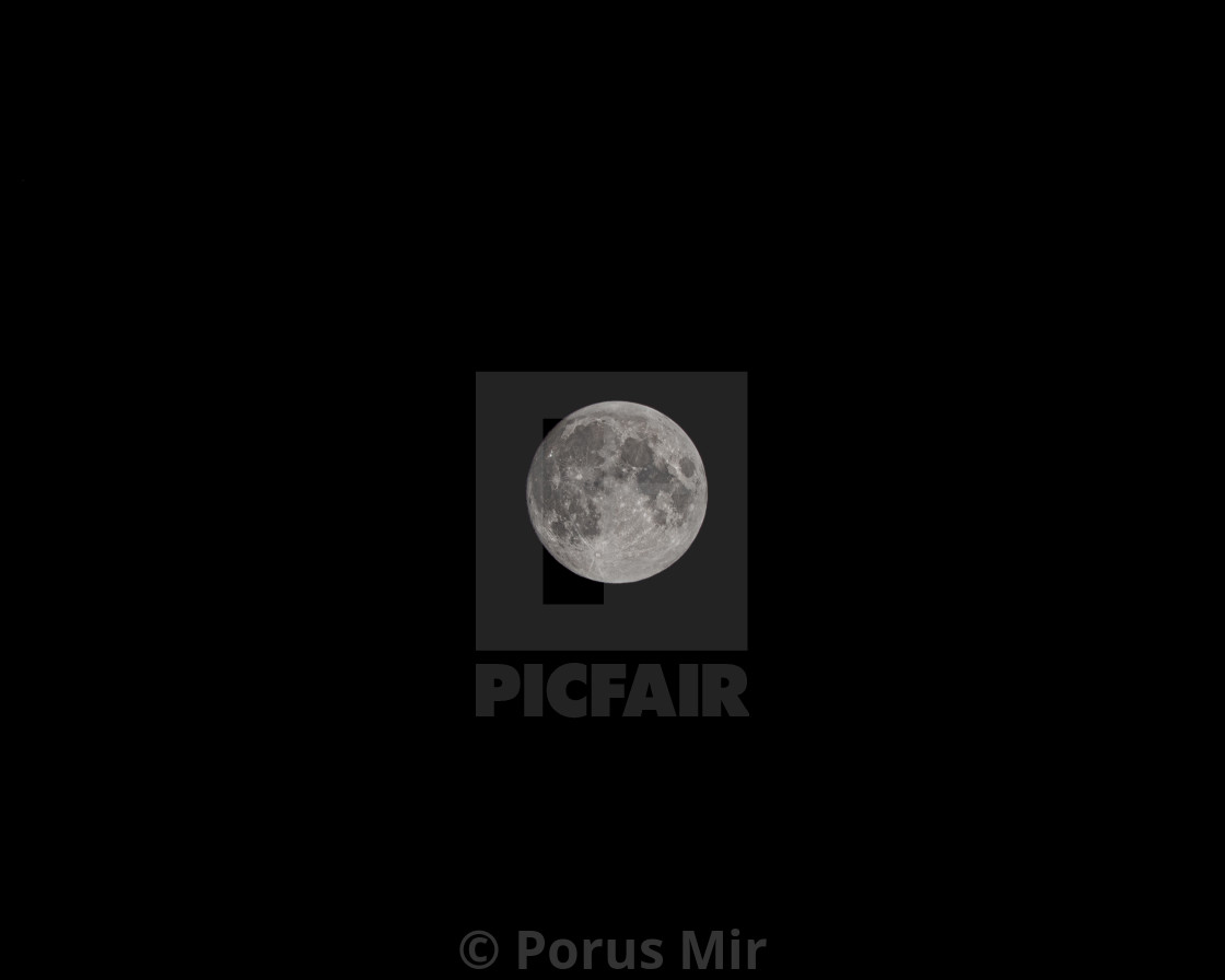 Full Buck Moon - License, download or print for £7 96