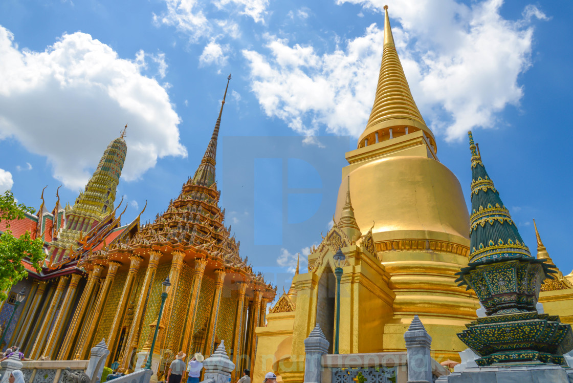 """tha temple of the Emerald Buddha"" stock image"