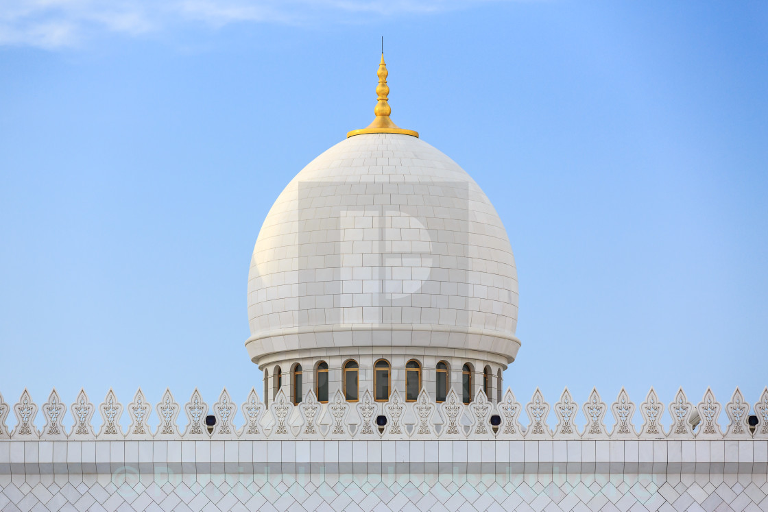"""""""Zayed grand mosque"""" stock image"""