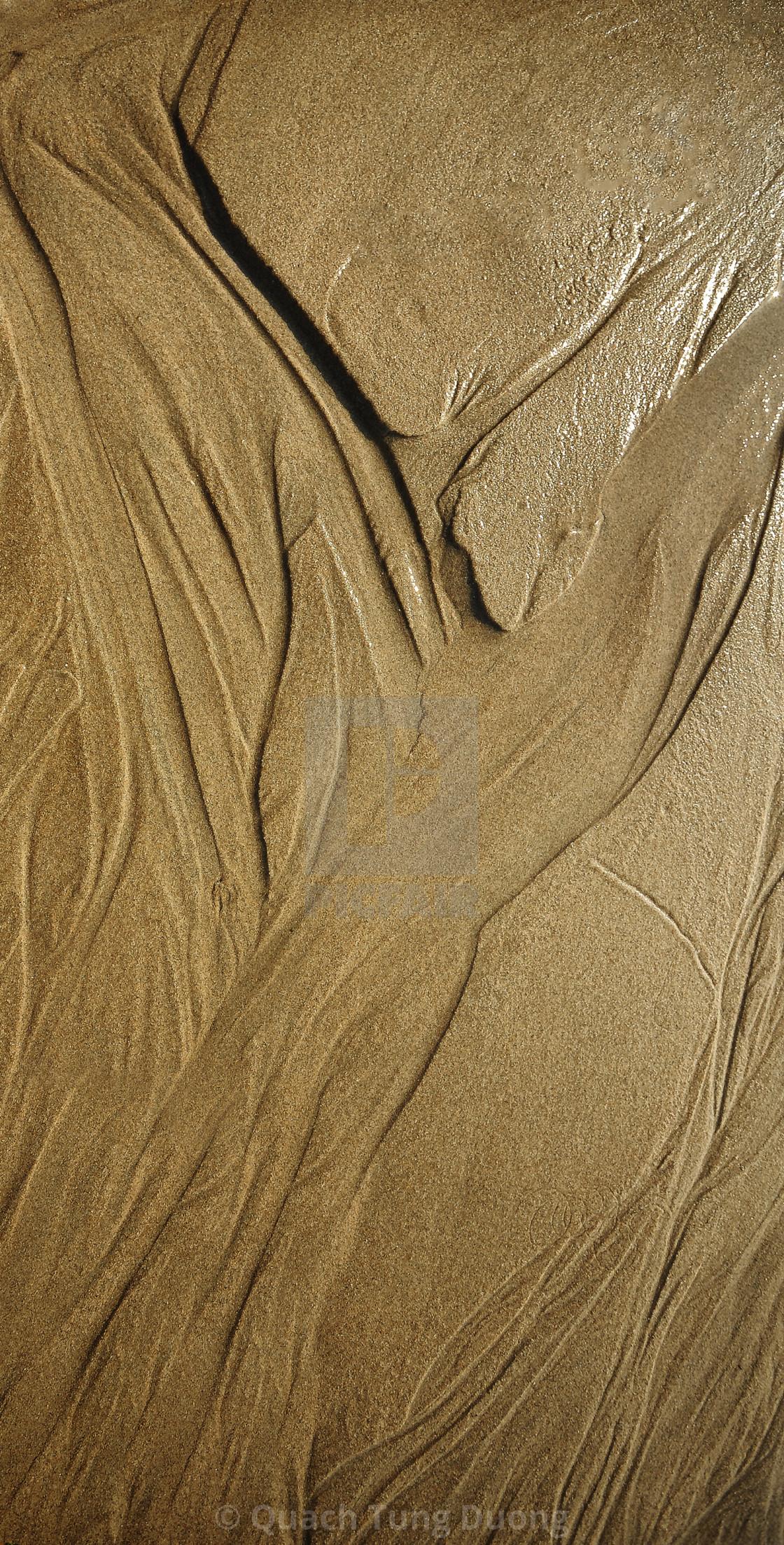 """Nauture Art On the Sand"" stock image"