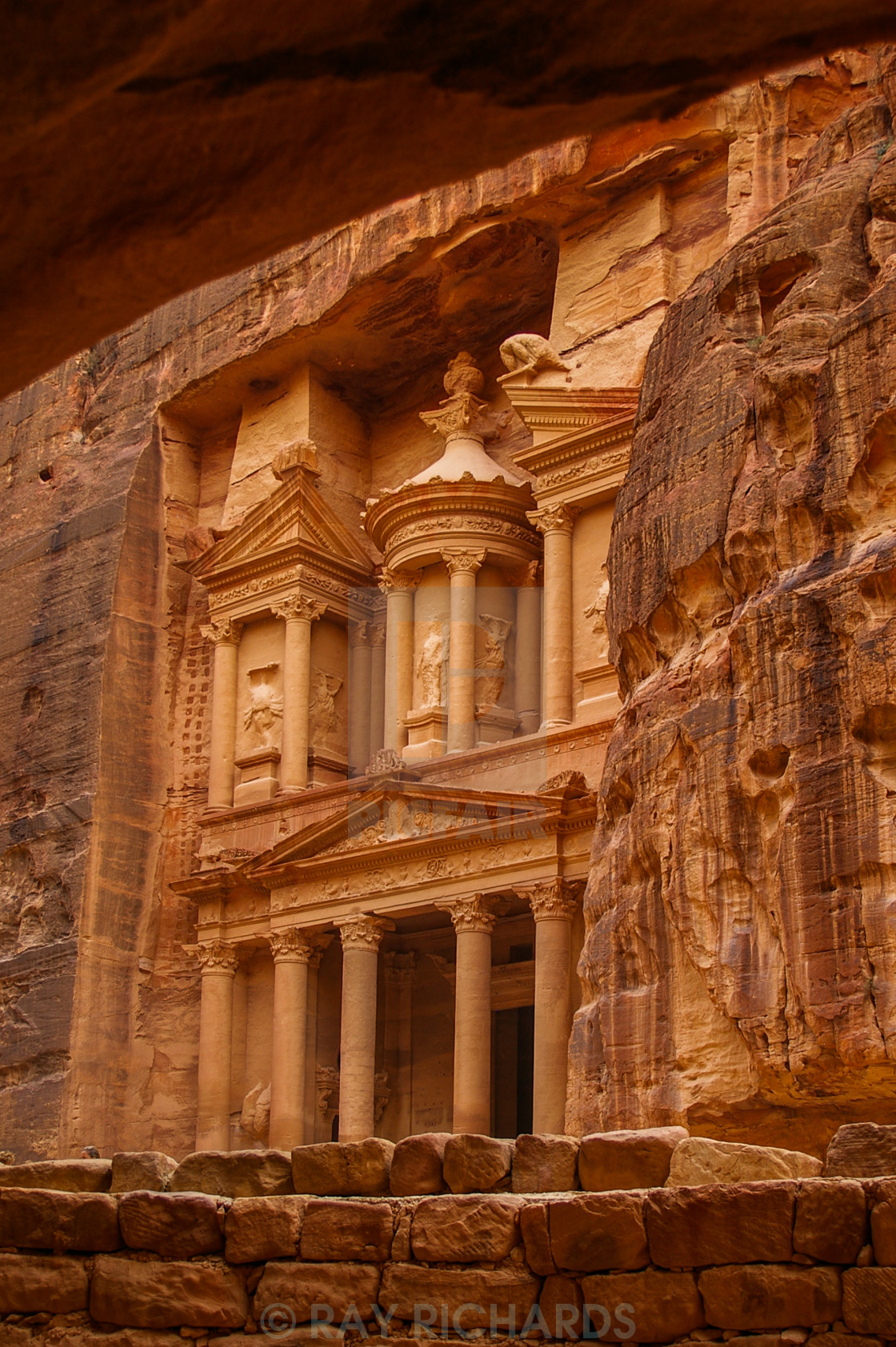 """THE TREASURY,PETRA"" stock image"