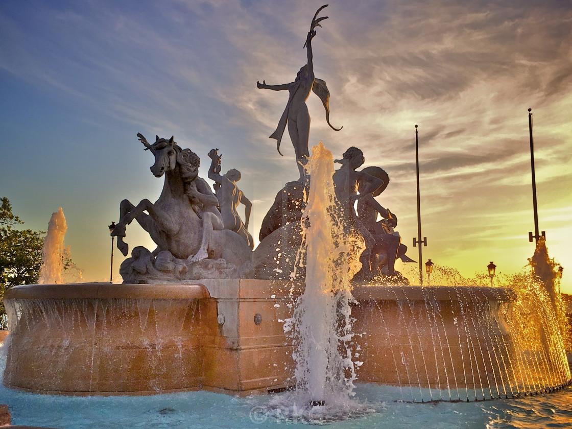 Sunset Paseo De La Princesa License Download Or Print For 6 20 Photos Picfair