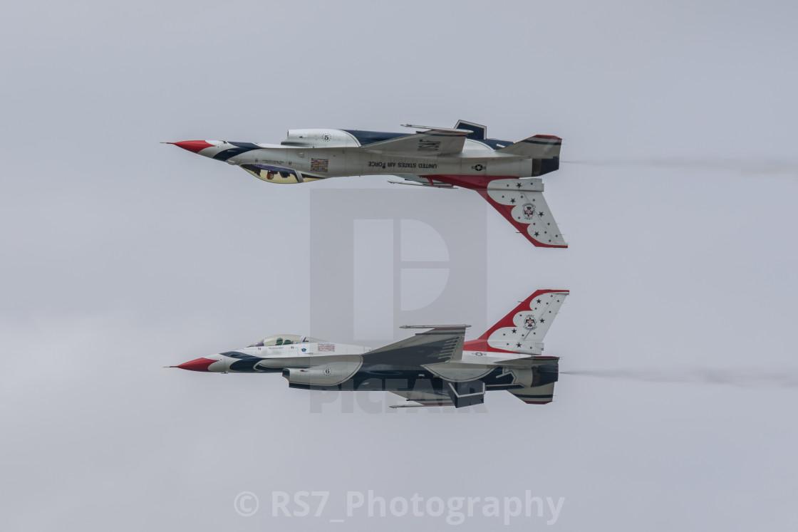 """""""USAF Thunderbirds"""" stock image"""