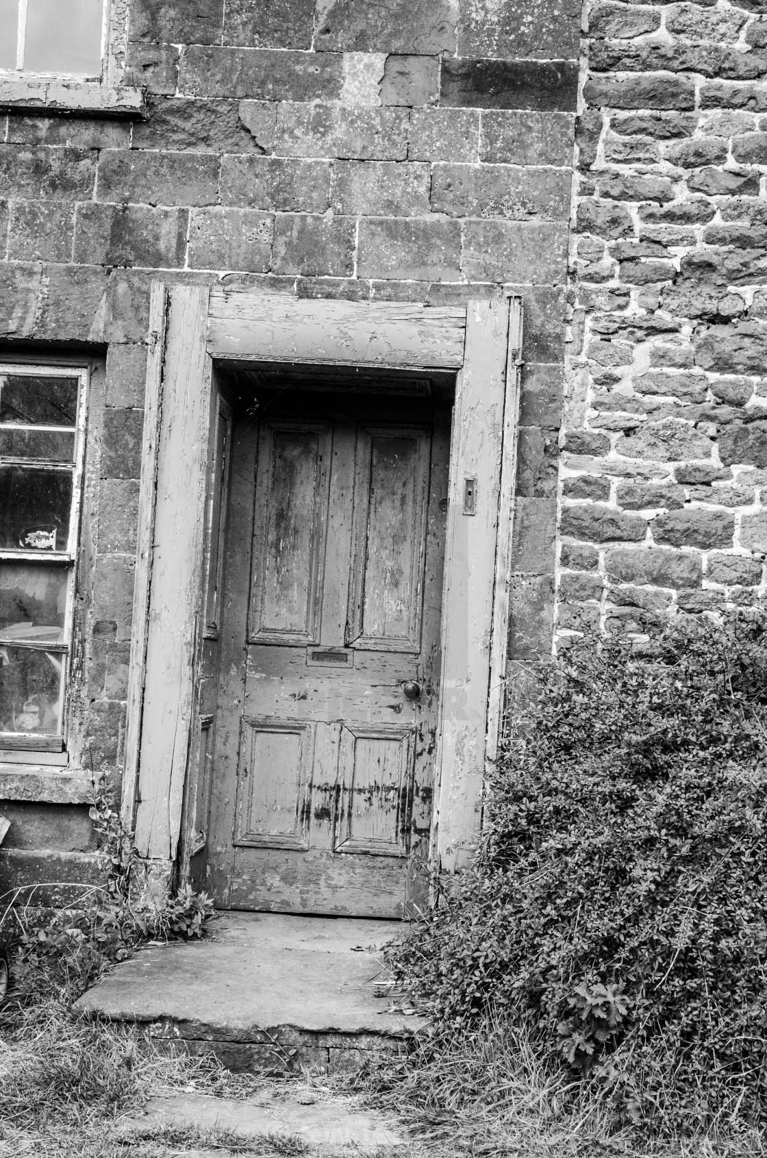 Old Cottage Doorway
