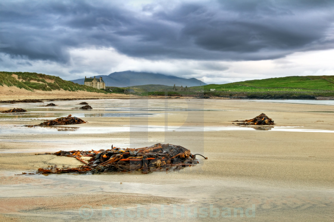 """Balnakiel Bay, Scotland"" stock image"