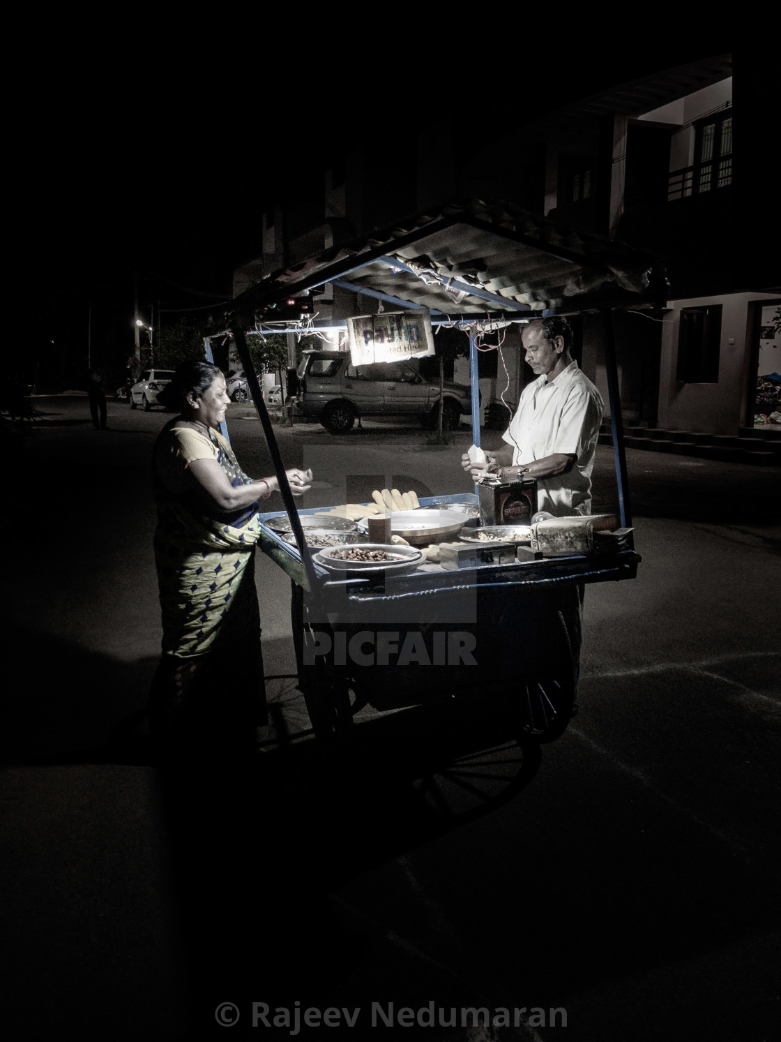 """Street Vendor"" stock image"