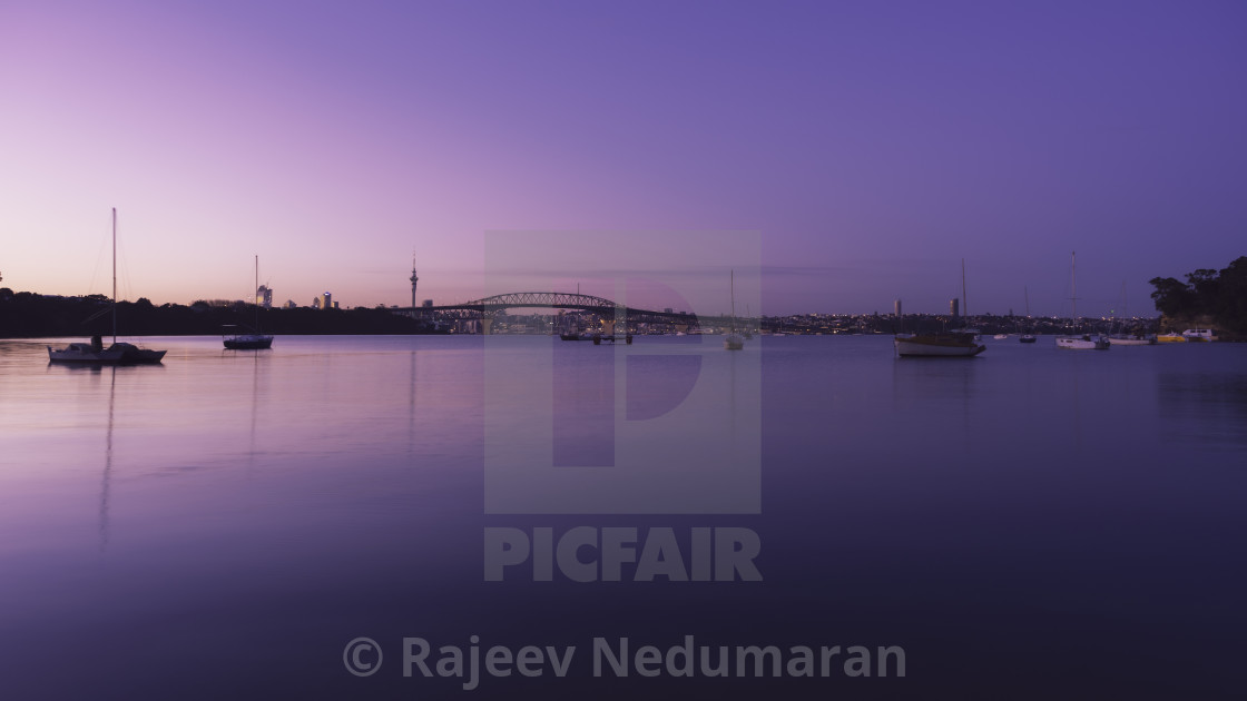 """Purple Sunrise"" stock image"