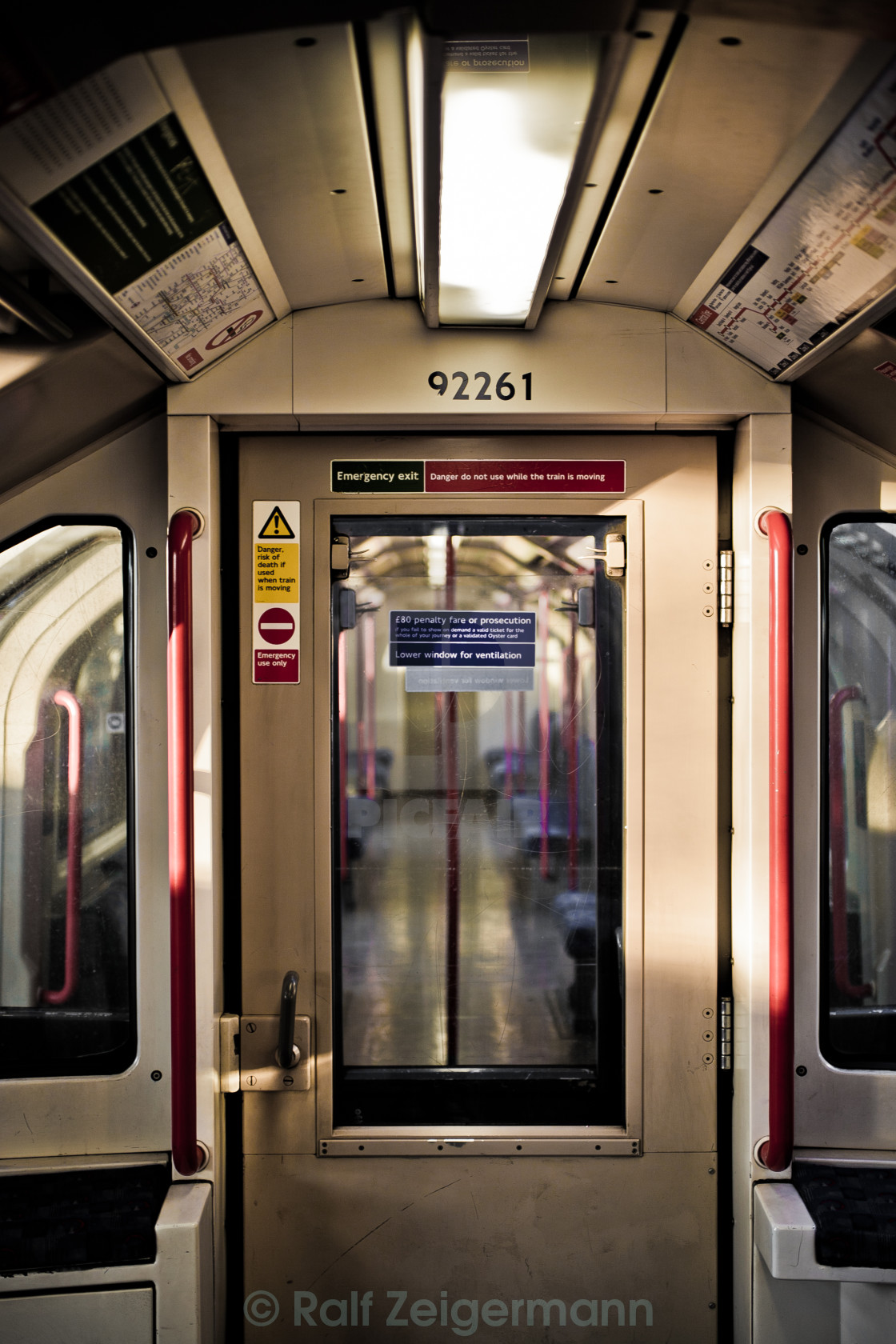 """Central Line"" stock image"
