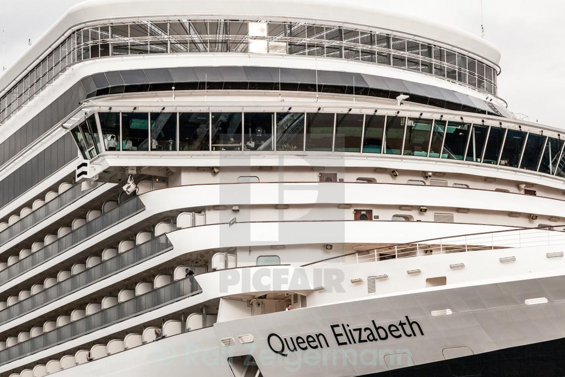 """""""Queen Elizabeth"""" stock image"""