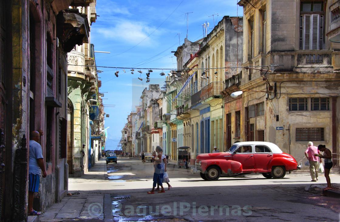 """""""La Habana vieja"""" stock image"""