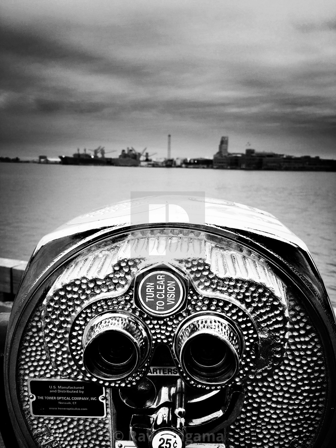 """Baltimore harbor view"" stock image"