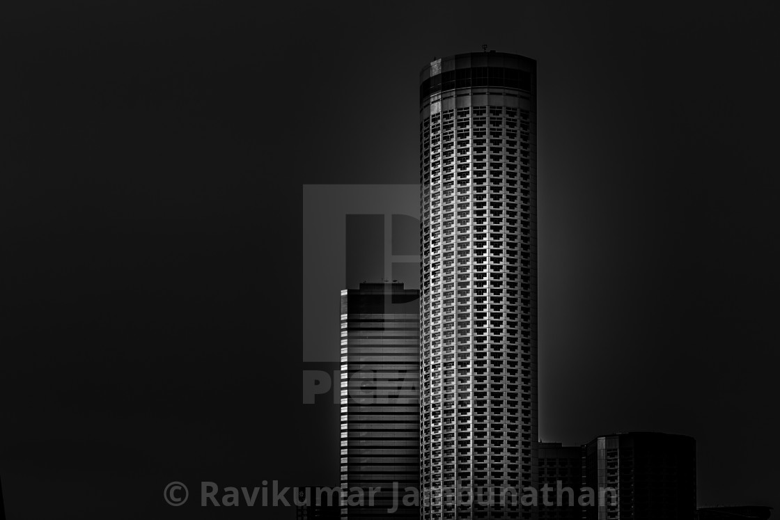 """Raffles City Hotel"" stock image"