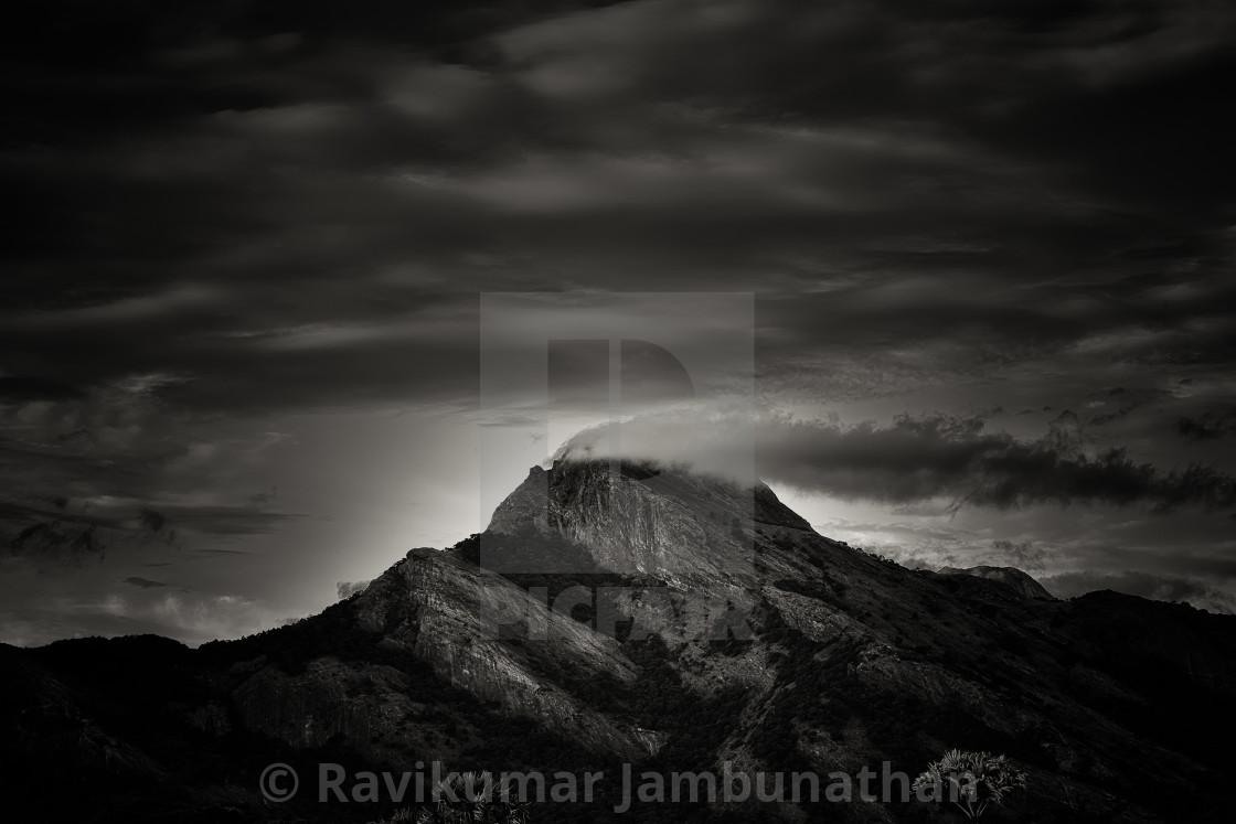 """Western Ghats - Study 1"" stock image"