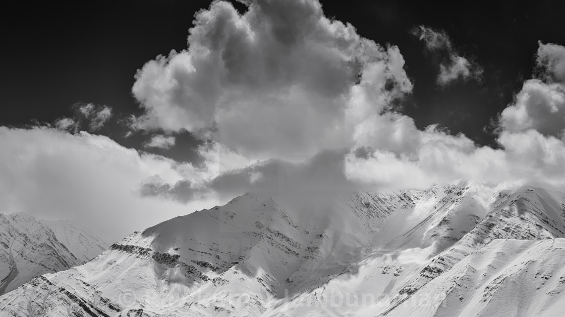 """""""The Grand Himalayan Landscape - 8"""" stock image"""