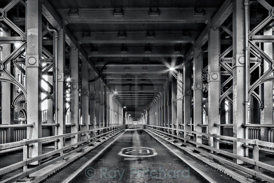 """Hihg Level Bridge"" stock image"