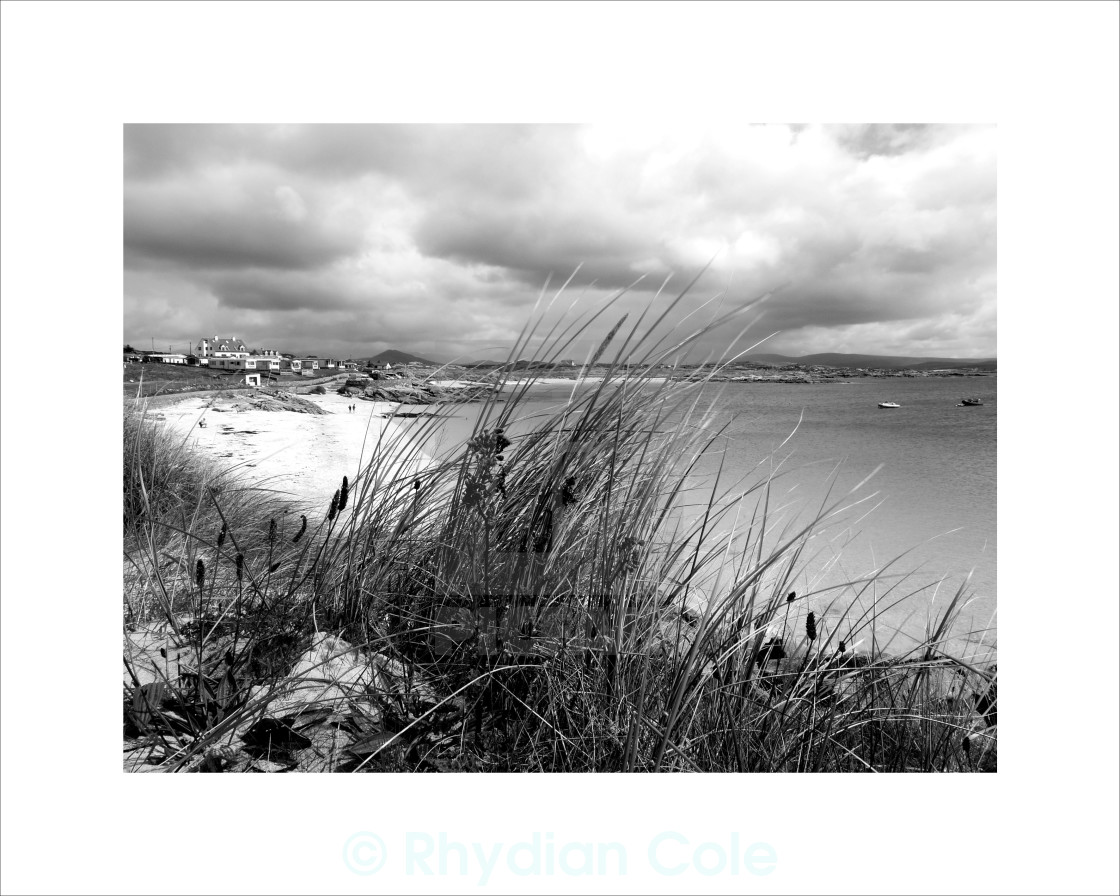 """Roundstone, Co. Galway"" stock image"