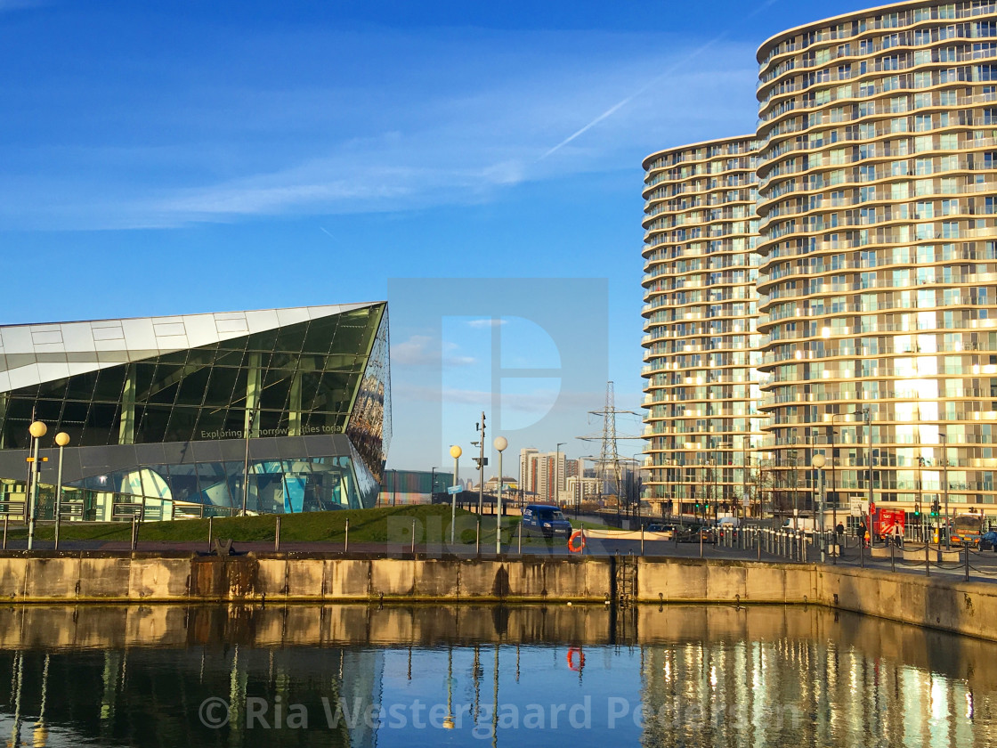 """Royal dock"" stock image"