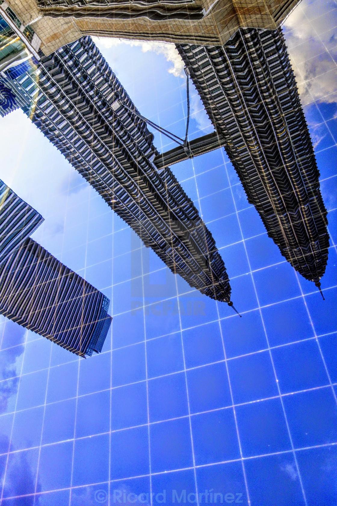 Petronas towers water reflection kuala lumpur malaysia license petronas towers water reflection kuala lumpur malaysia stock image buycottarizona Gallery