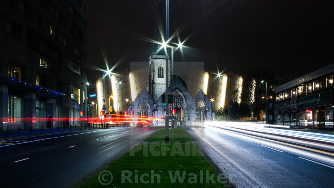 """""""Plymouth City Centre"""" stock image"""