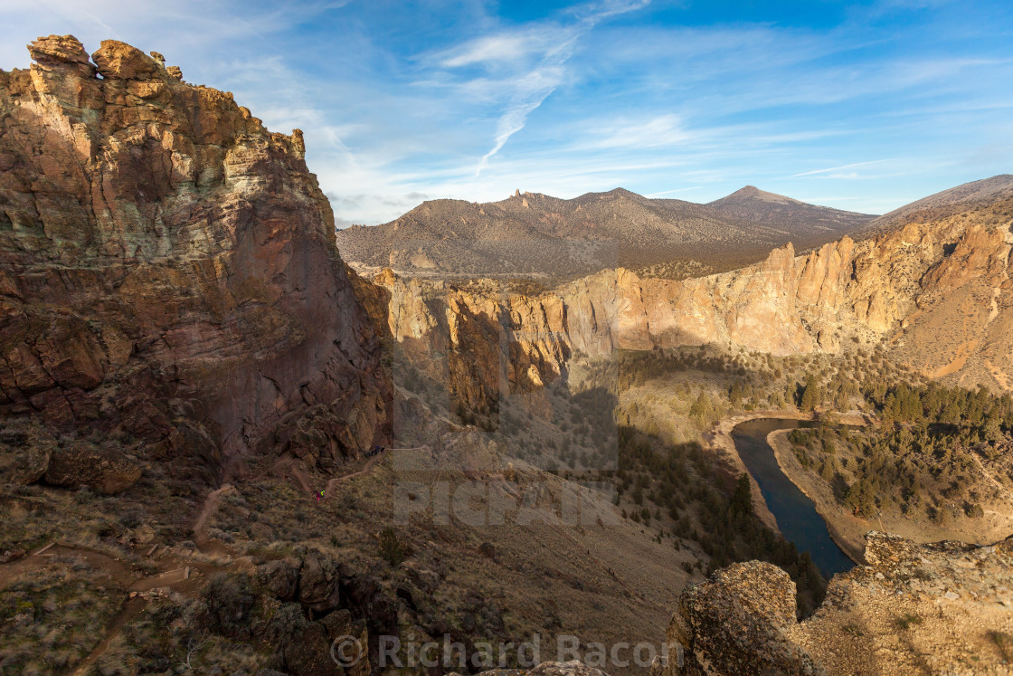 """Smith Rock State Park"" stock image"