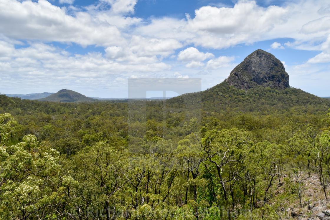 """Mount Tibberoowuccum"" stock image"