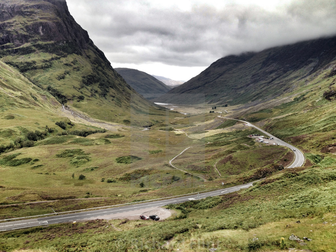 Image result for road through glen coe