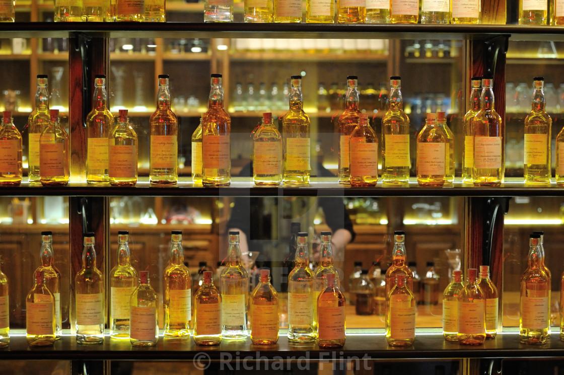 """""""Whisky Blenders Bottles"""" stock image"""
