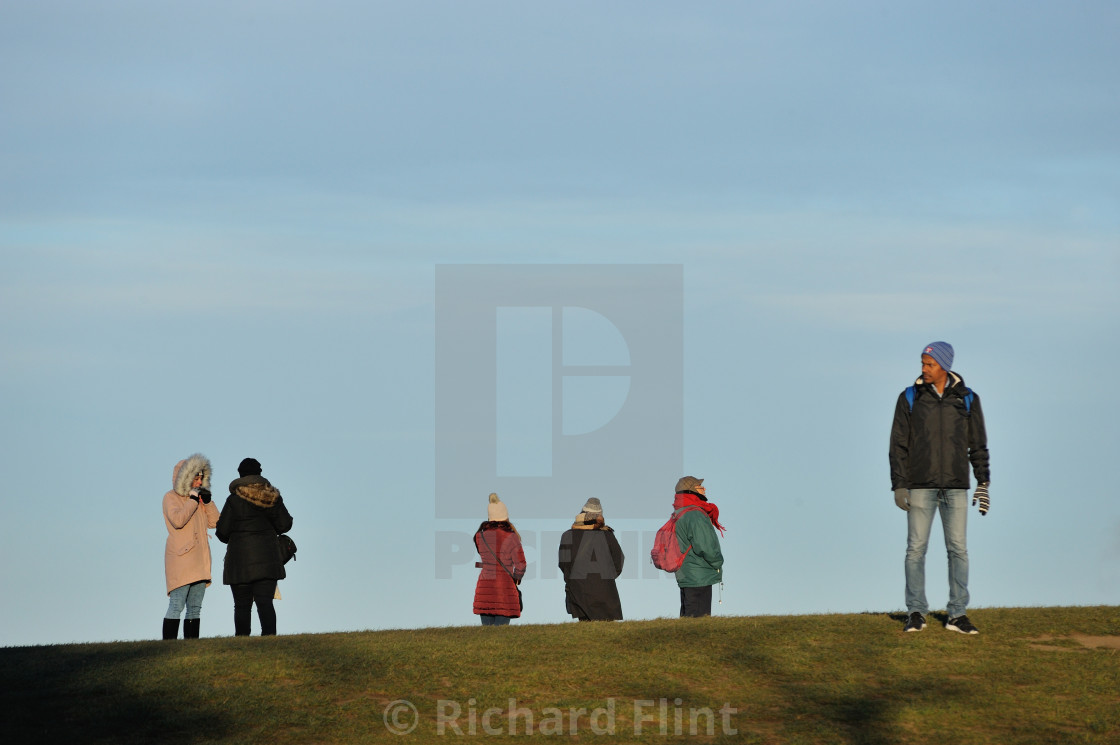 """Calton Hill - Edinburgh, Scotland"" stock image"