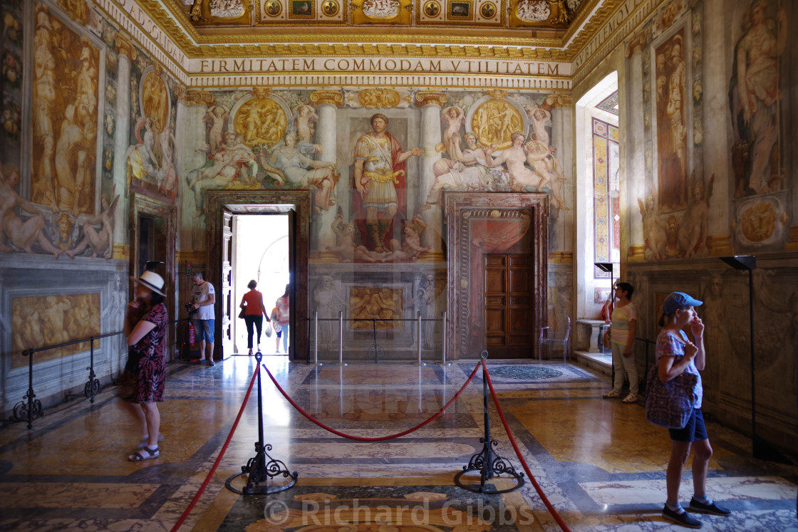 Castel Sant'Angelo, interior - License, download or print