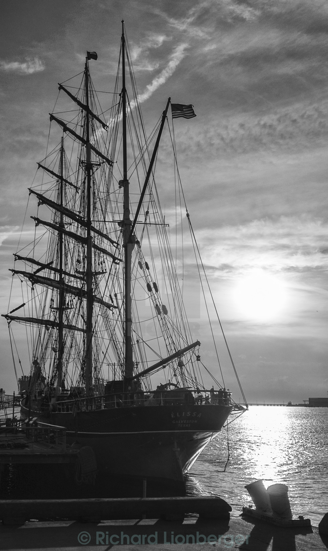 """Elissa Tall Ship"" stock image"