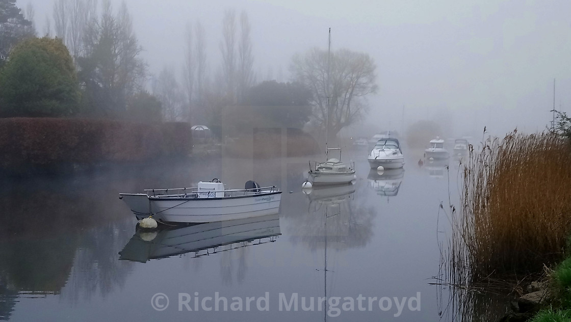 """River Frome, Wareham"" stock image"