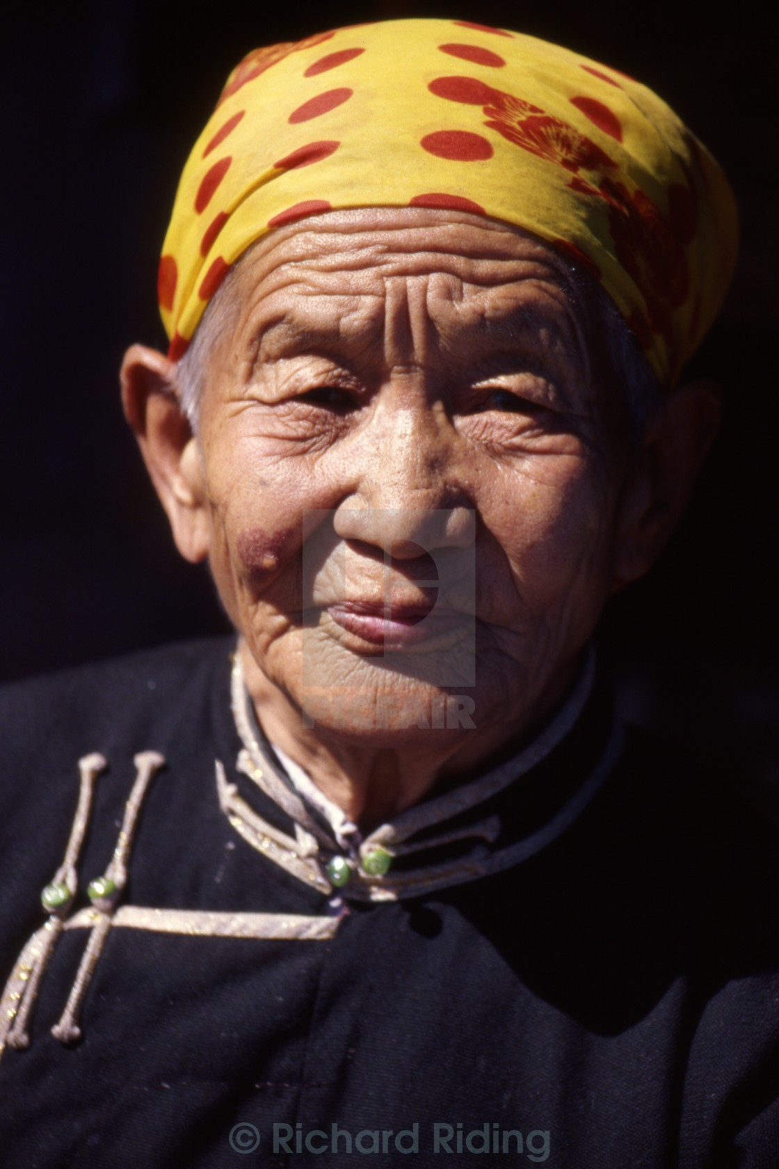 """Mongolian Woman"" stock image"