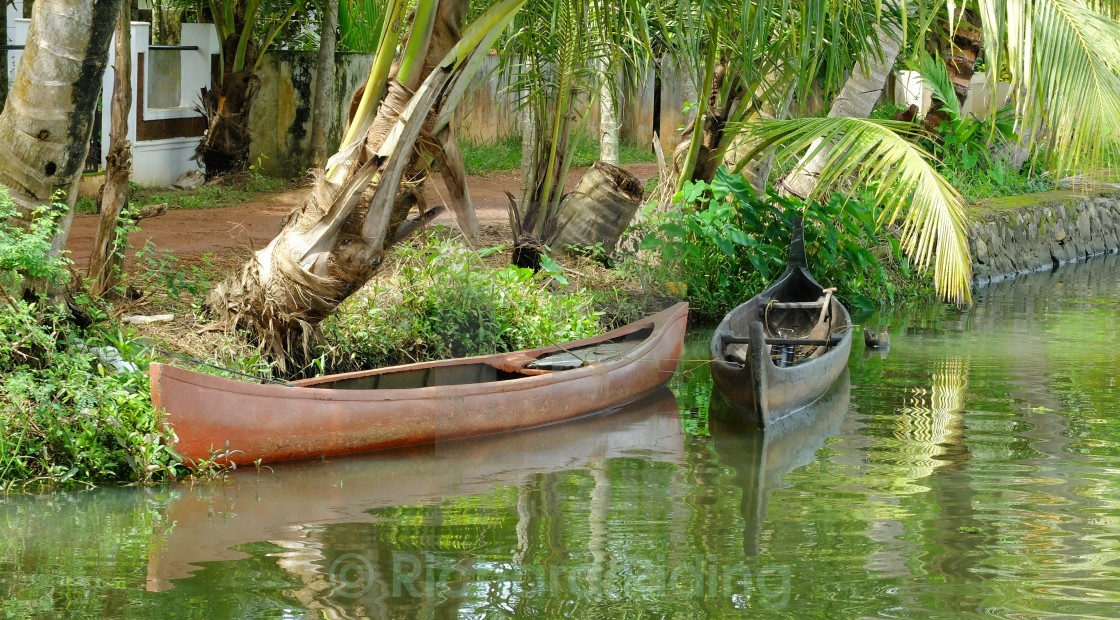 """Kerala Backwaters"" stock image"