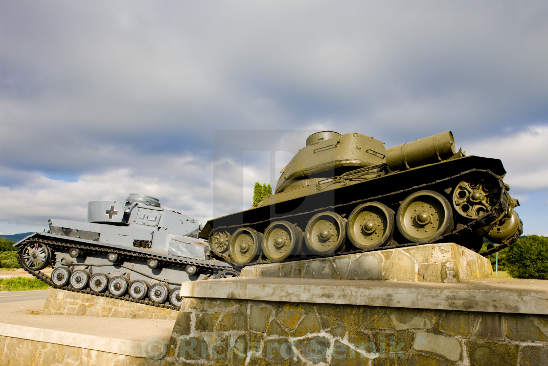 monument of World War II, Death Valley, Slovakia - License, download