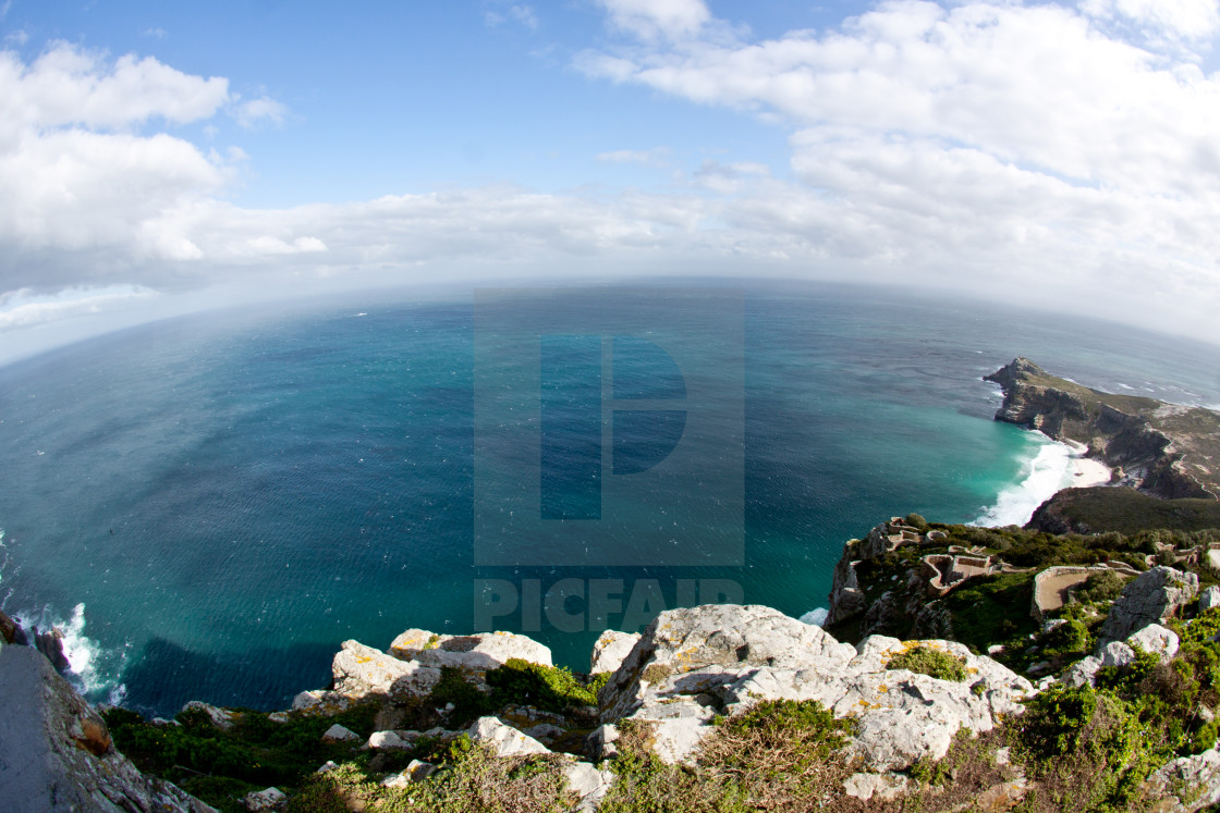 """Cape Point and Cape of Good Hope, South Africa"" stock image"