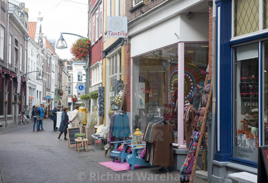 Deventer Overijssel The Netherlands Idiosycratic shopping