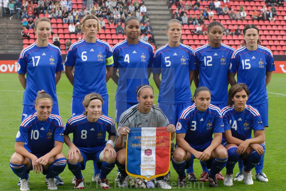 WOMEN EURO 2009 FINLAND dieulois