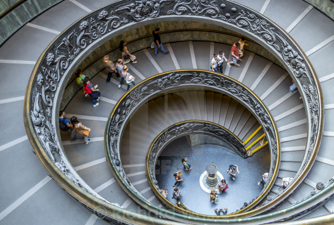 """""""Rome Spiral"""" stock image"""