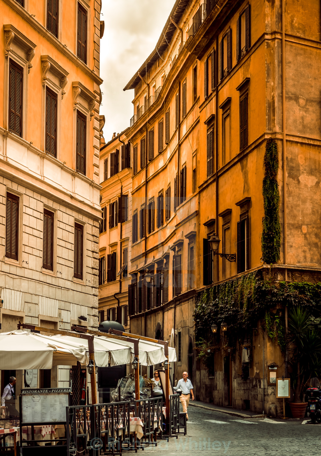 """""""Rome Alley"""" stock image"""