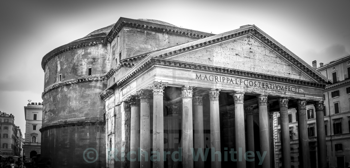 """The Pantheon"" stock image"