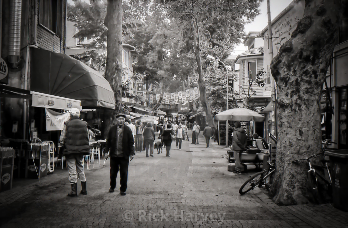 """Street scene in Turkey"" stock image"