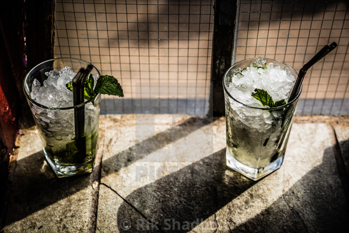"""Mojitos"" stock image"