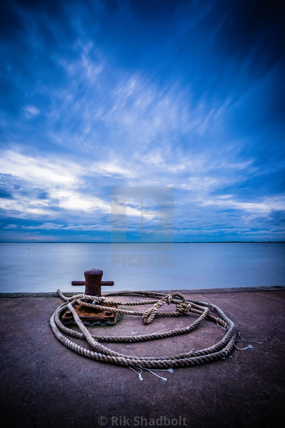 """Evening Tide"" stock image"